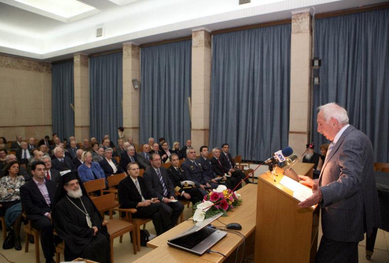 Εκδήλωση εθνικής επετείου 25ης Μαρτίου 2010